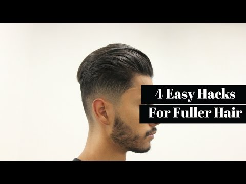 How To Grow Thicker/Fuller Hair