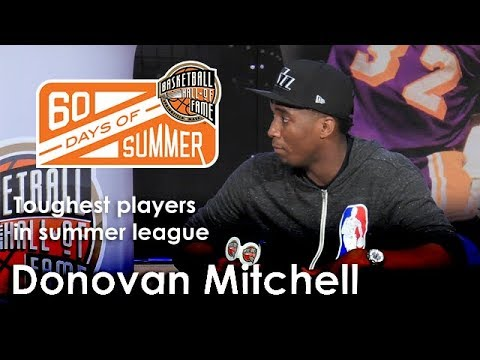 Donovan Mitchell talks about the toughest players he played against in summer league