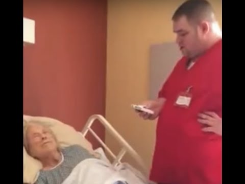 Hospice Worker Didn't Know He Was On Camera When He Did THIS To A Dying Women.