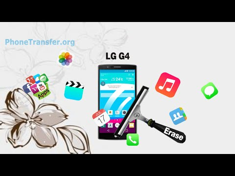 [LG G4 Data Eraser]: How to Erase All Data from LG G4 Permanently for Re-sale