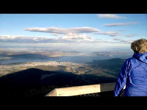 Mount Wellington view on Hobart