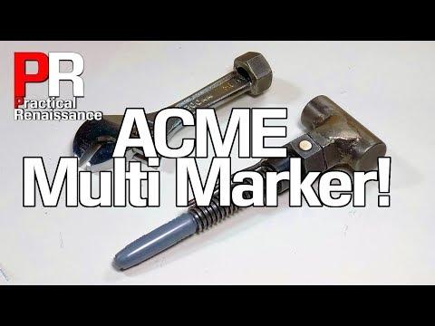 The All Purpose ACME Multi Tool Marker!