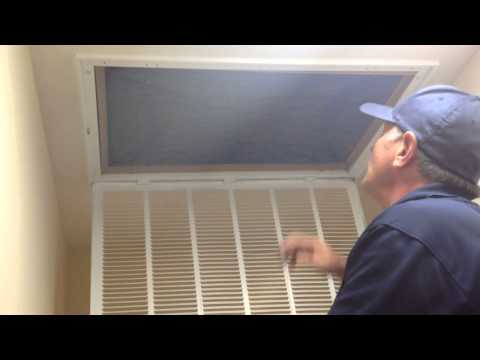 How to Change an Air Filter -Elliott Homes Helpful Homeowner Tip