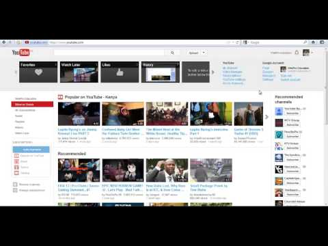 How To Find your YouTube User ID