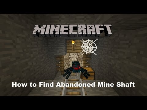 Minecraft: How to Find Abandoned Mine Shaft