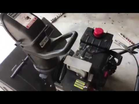 Craftsman Snowblower belt replacement - Opening for Belt Access