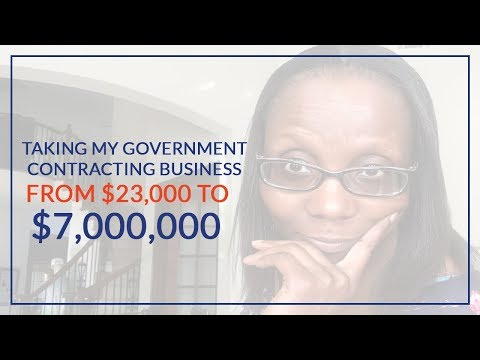 Government Contracting: How I Took My Construction Company From $23,000 to $7,000,000 - What I Know