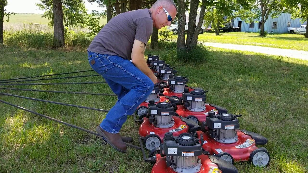 Biggest Redneck Lawn Mower 246 inch