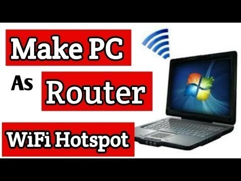 How To Turn Your Windows 7/8/10 Laptop Into Wifi Router Easily [Hacked] With CMD Latest