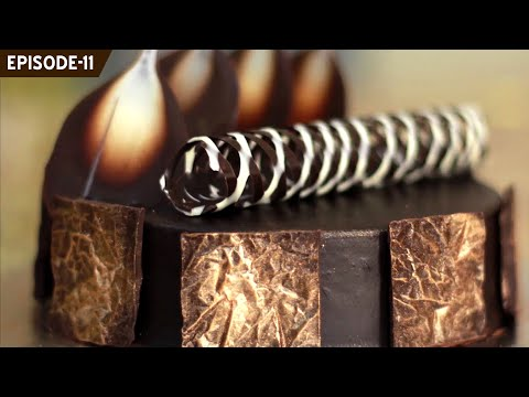 Learn how to make beautiful chocolate decorations to decorate your cakes and other desserts (Part 2)