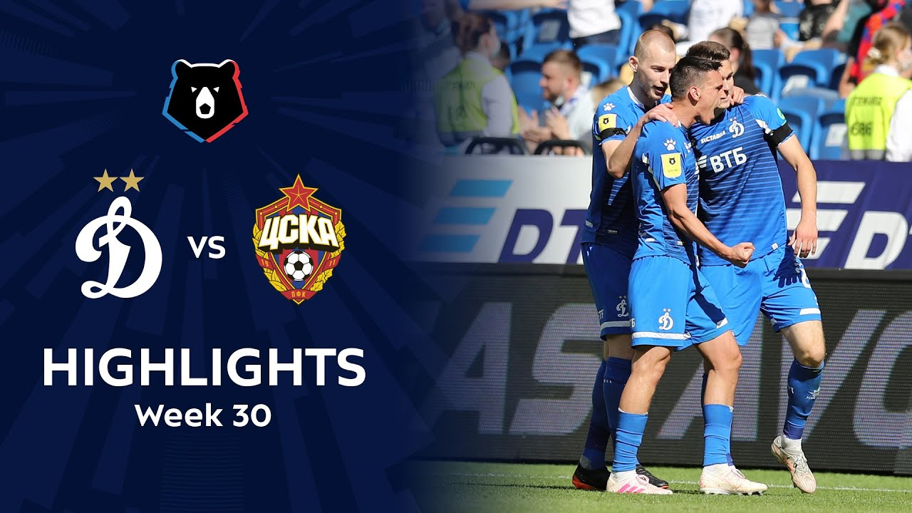 Highlights Dynamo vs CSKA (3-2)   RPL 2020/21
