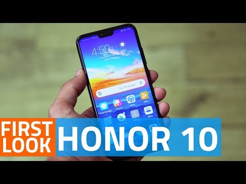 Honor 10 First Look | Design, Camera, and More