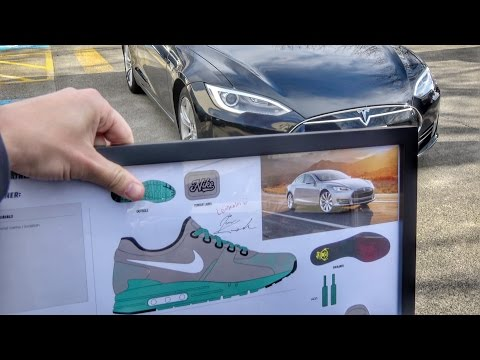 TESLA inspired NIKE shoes!!
