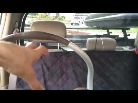 ★★★★★ Premium Microfiber Quilted Dog Car Seat Covers Waterproof /63