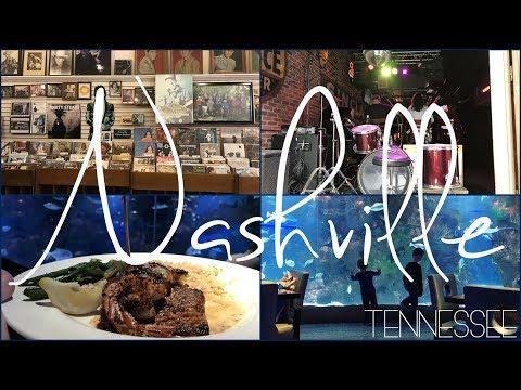 Nashville, Tennessee | Broadway Street - Aquarium Restaurant - Grand Ole Opry
