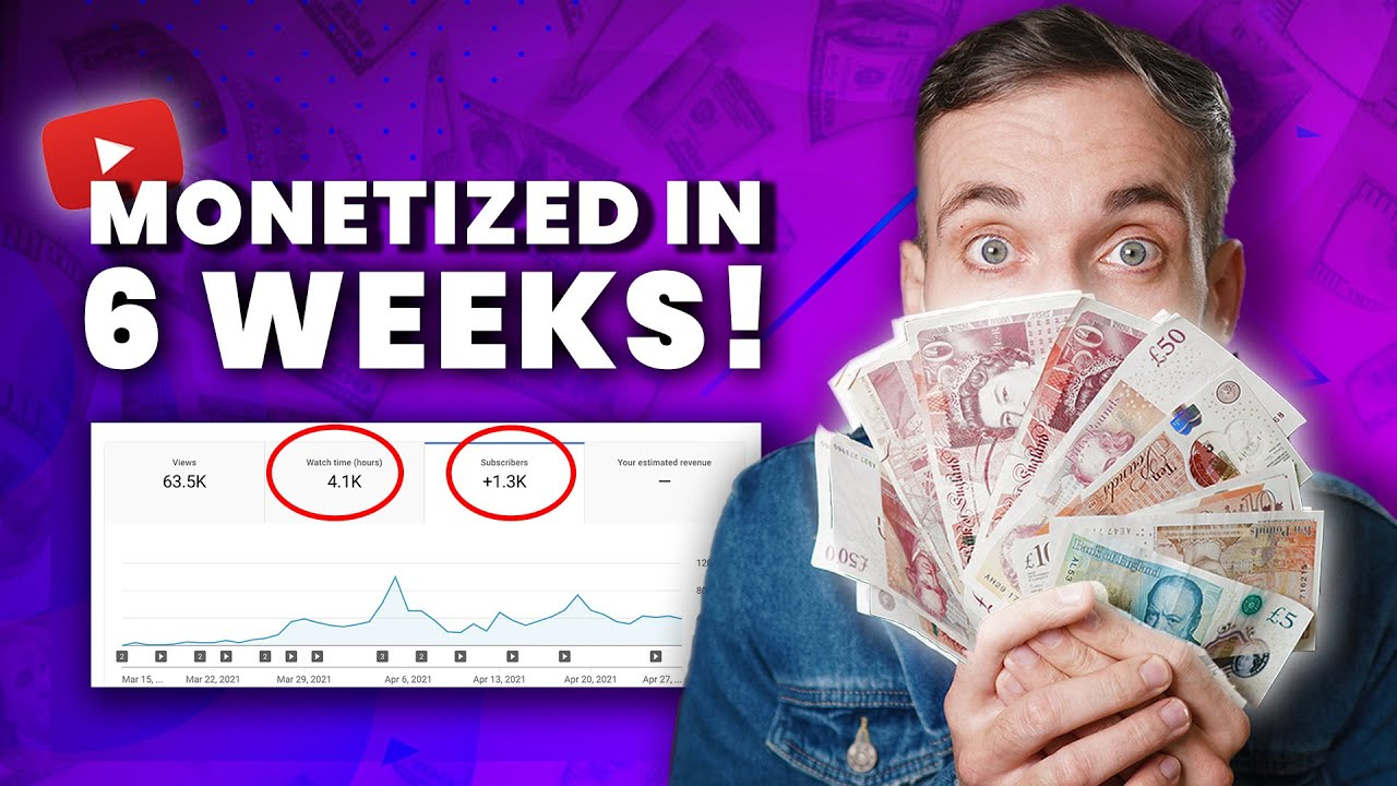 I got MONETIZED as fast as I could - HERE'S HOW
