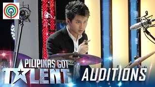 Pilipinas Got Talent Season 5 Auditions: Gian Bacalso - Freestyle Drummer