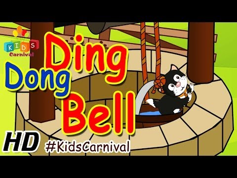 Ding Dong Bell - Nursery Rhymes   Play School Songs   Easy To Learn