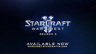StarCraft II War Chest Season 3 Now Available