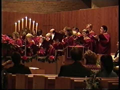 Northminster Carol Service 1997,  Senior Choir