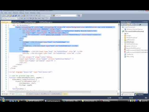 ASP.NET GridView + jQuery tips and tricks