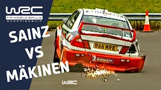 "WRC History ""Down to the Wire"": 1998 - Mäkinen vs. Sainz"