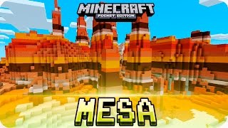 Desert Temple, Village & Stronghold at Spawn!! Minecraft PE