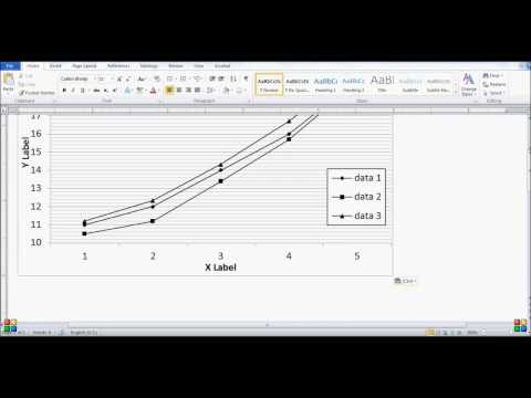 How to make professional high resolution graphs using MS Excel