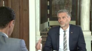 Bashar al-Assad speaks to Swiss television