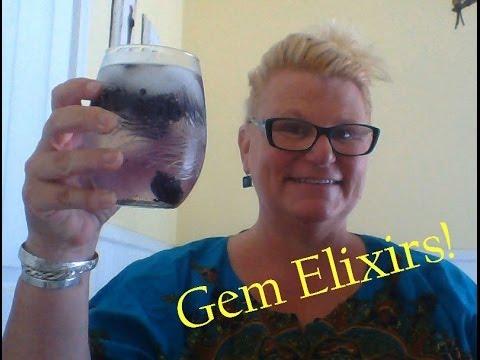 Crystal Gem Elixirs - Easy DIY Recipe