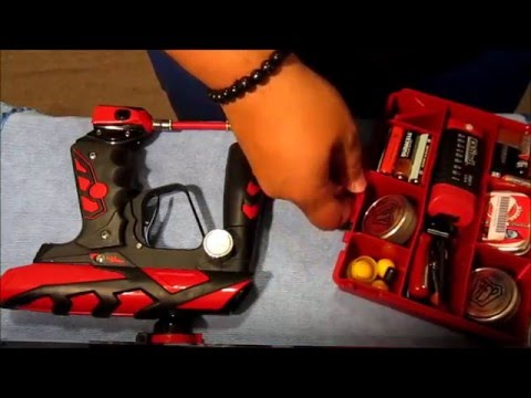 How To Clean Your ION Paintball Gun DIY Part 1!!! :D
