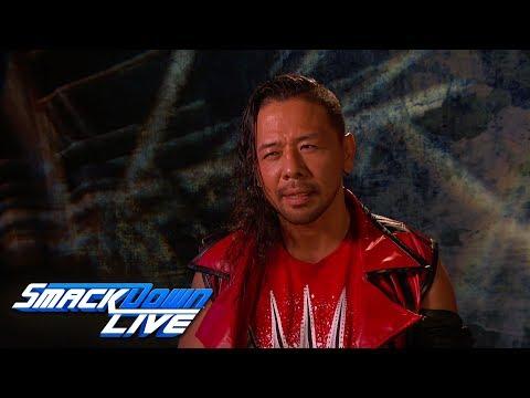 Shinsuke Nakamura promises a knee to the face for AJ Styles: SmackDown LIVE, April 3, 2018