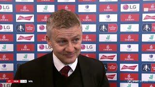 Solskjaer gives Rashford injury update after striker limps out of FA Cup win