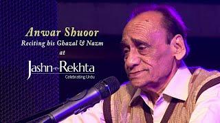 Anwar Shuoor reciting at Jashn-e-Rekhta 2015 Mushaira