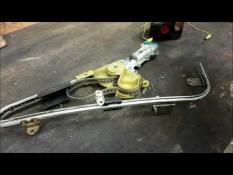 GM Power Window Repair / Regulator Tape Replacement / 1989 Buick LeSabre