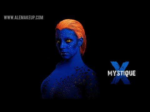 Maquillaje y disfraz de Mística de X-Men // X-Men Mystique make up & costume (cosplay)