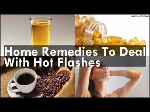 Home Remedies To Deal With Hot Flashes