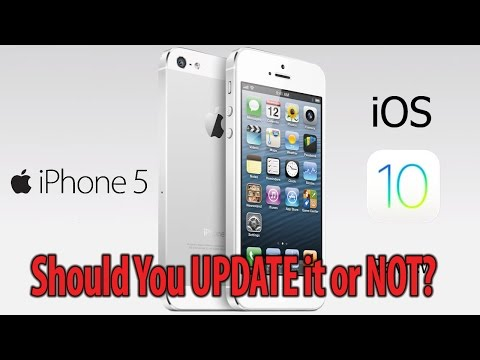 iPhone 5 iOS 10- Should you Update or not? Performance test