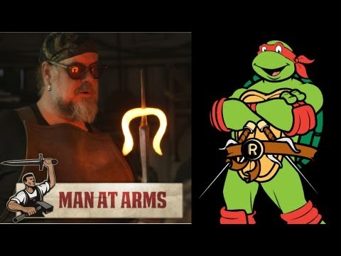 Raphael's Sais (Teenage Mutant Ninja Turtles) - MAN AT ARMS