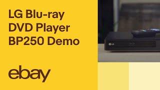 LG Blu-ray DVD Player - BP250 Demo   eBay Top Products