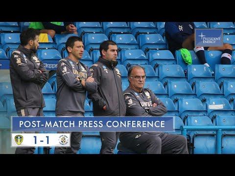 Marcelo Bielsa reaction | Leeds United 1-1 Luton Town | EFL Championship