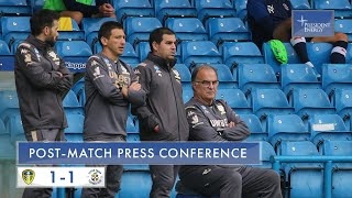 Marcelo Bielsa reaction | Leeds United 1-1 Luton Town | EFL Championship