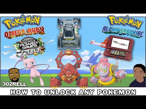 How to get ANY Pokemon in Omega Ruby & More with POWER SAVES 3DS