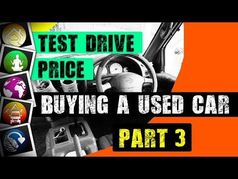 Buying a Used Car/Camper: TEST DRIVE and PRICE Negotiation (Part 3 of 3)