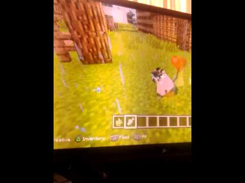 How to tame a ocelots minecraft ps3