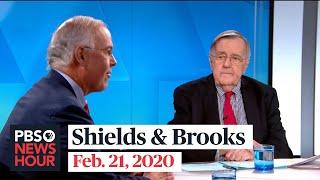 Shields and Brooks on Las Vegas debate, Trump's pardons
