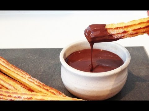 HOW TO MAKE CHURROS how to cook that Ann Reardon churros