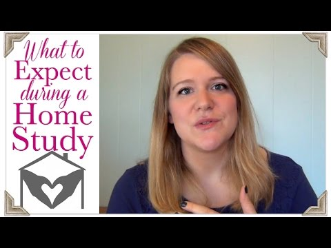 What To Expect During Your Home Study