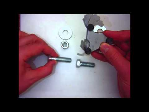 How to measure threads on a bolt