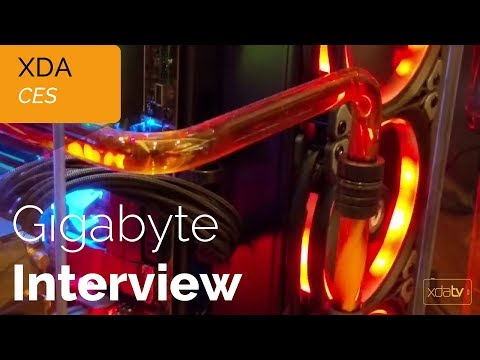 Gigabyte Interview at CES 2018